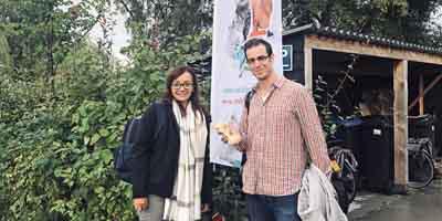 Biogal, producent VacciCheck op bezoek bij NML health